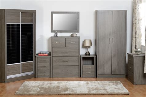 seconique lisbon black bedroom furniture range wardrobe