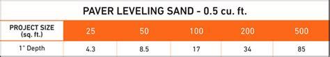 sakrete 5 cu ft step 2 paver leveling sand 40100316