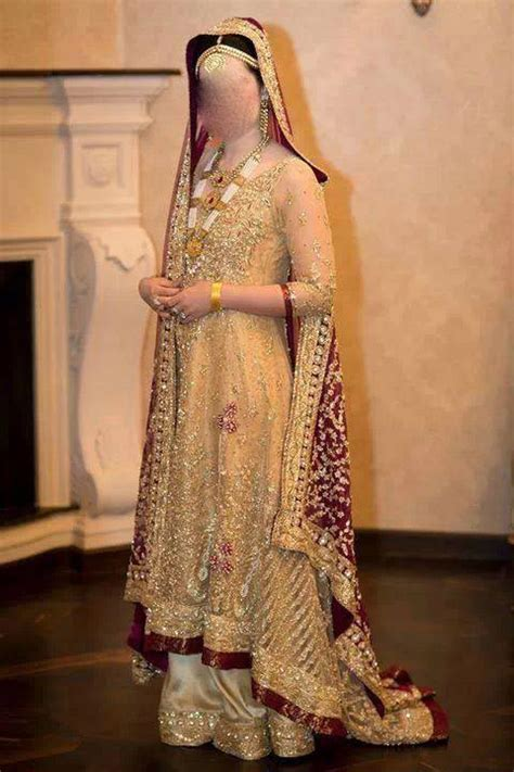 dress design in pakistan 2015 facebook bridal dress frock open shirt tail gown with lehenga 2014 2015