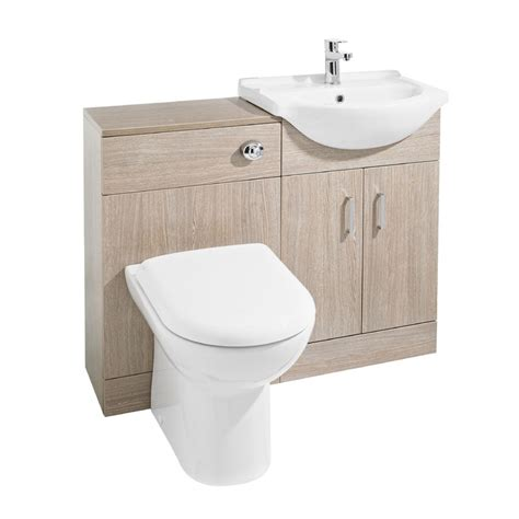 ultra bromley vanity unit cloakroom suite w1050 x d300mm