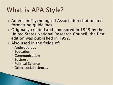 apa format guidelines 2015 using apa style 2015