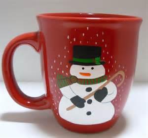 got heart christmas cups