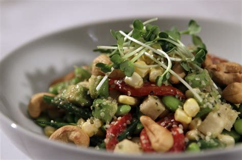 easy dinner recipes three great chopped salad ideas for meatless monday la times
