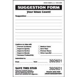 employee suggestion box form template best photos of suggestion form ideas safety suggestion
