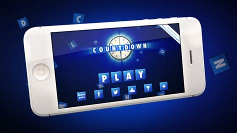 countdown app for android quot countdown quot gameshow mobile app for iphone and android by tom mcdaid for itv