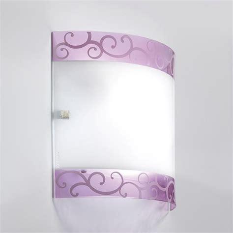 applique in vetro applique classiche lade da parete in stile classico