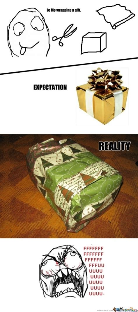 Wrapping Presents Meme - xmas christmass gift wrap memes best collection of funny