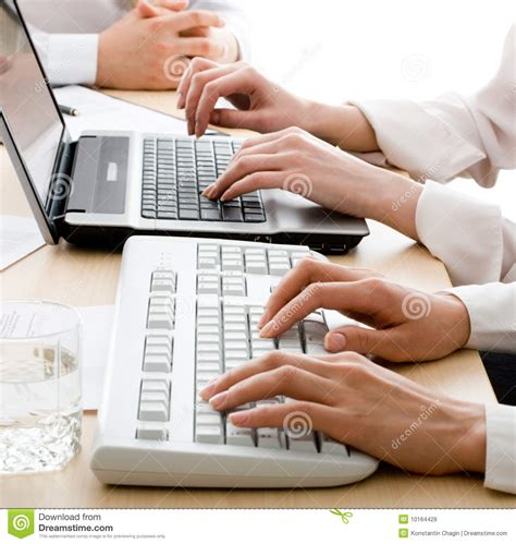 free stock photo hands over keyboard hands over keyboards royalty free stock photos image