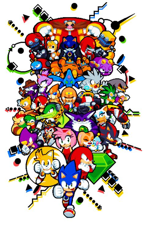 Bookmarks Infinite Fanart Limited Design 1 pixel by paul veer sonic the hedgehog your meme