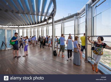 observation deck of burj khalifa burj khalifa observation deck dubai city united arab