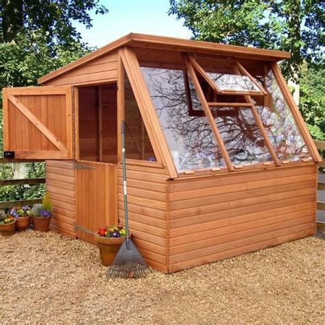 Shed Glazing by Greenhouse Potting Sheds If Using Glass Need To Be Able
