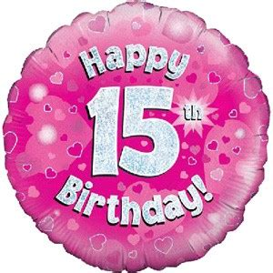 Happy Birthday 15 Quotes 15th Birthday For Daughter Quotes Quotesgram