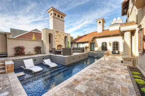 mediterranean house plans with swimming pool 20 artistic mediterranean swimming pool designs you re