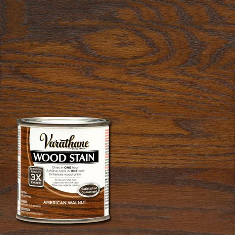 varathane stain colors varathane 8 oz american walnut wood interior stain 266200