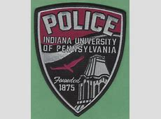 Indiana University of Pennsylvania Police Patch Indiana University Of Pa Police