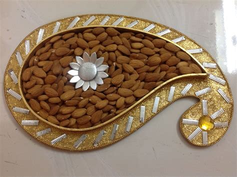 decorative boxes for dry fruits dry fruit packing indian wedding packaging trays