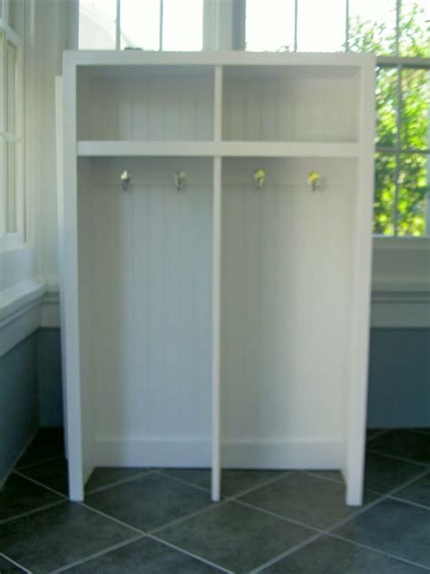 entry lockers ana white entry locker diy projects