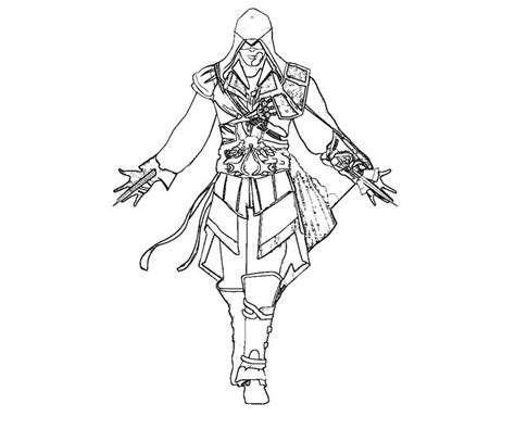 assassins creed colouring book free assassin s creed coloring pages