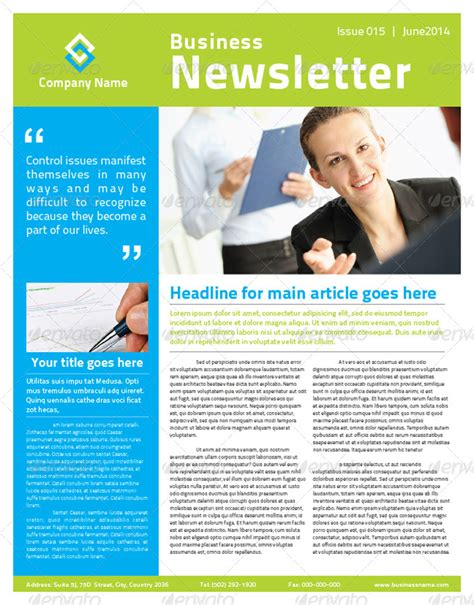 2 Pages Multi Purpose Business Newsletter By Mjcreative Graphicriver Multi Page Newsletter Templates