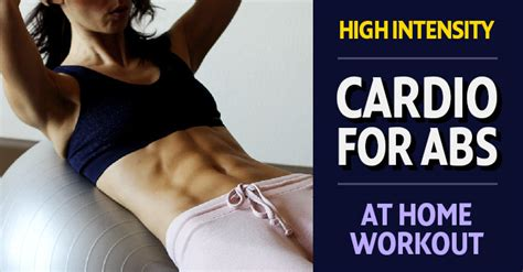 high intensity abs  cardio workout  women vitality