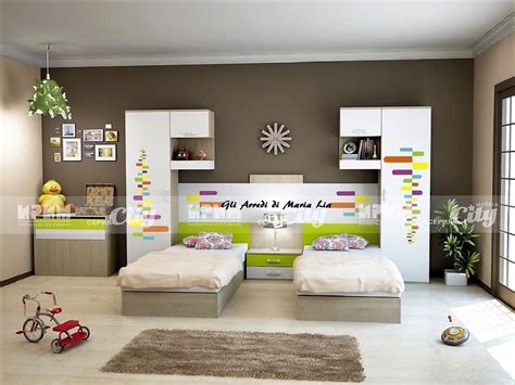 Letti Ragazzi Design by Comodino Cameretta Bambini Ponte