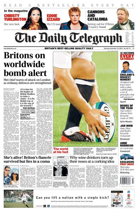 The Sunday Telegraph by The Daily Telegraph Readership Circulation Rate Card And