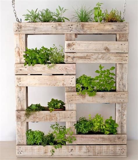 Planters For Herb Garden by 25 Unique Wood Pallet Planters Ideas On Palet