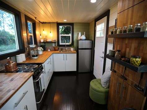 tiny heirloom s larger luxury tiny house on wheels 9 ways to live luxuriously in a tiny home hgtv s