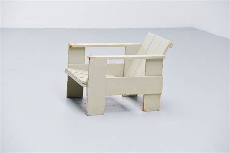 Gerrit Rietveld Crate Chair by Gerrit Rietveld Crate Chair Metz Co 1940 Mid Mod