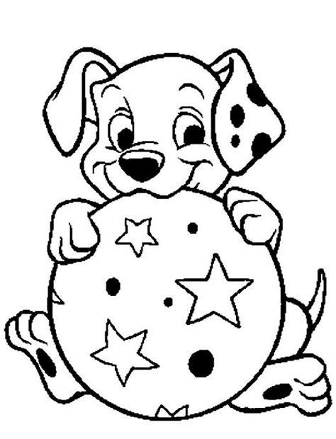 Coloring Pages 101 by 101 Dalmatians Puppies Coloring Pages Printable Pages