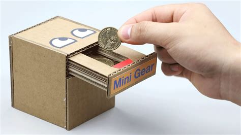 Money Bank how to make coin bank box