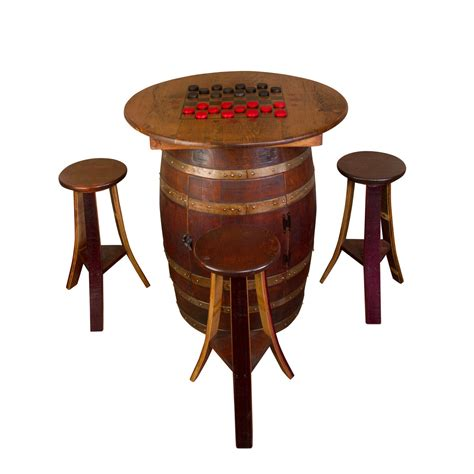 whiskey barrel tables whiskey barrel table set wine barrel furniture
