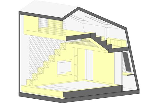 20 sqm children playroom interior design idea with two