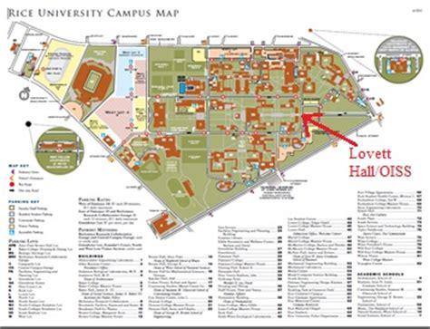 lovett texas map rice university office of international students scholars