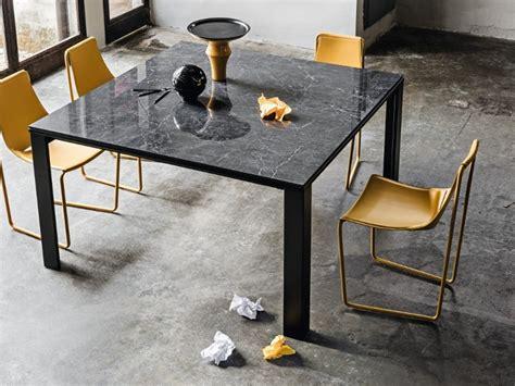 tavolo quadrato 140x140 tavolo quadrato 140x140 allungabile cristalceramica marmo