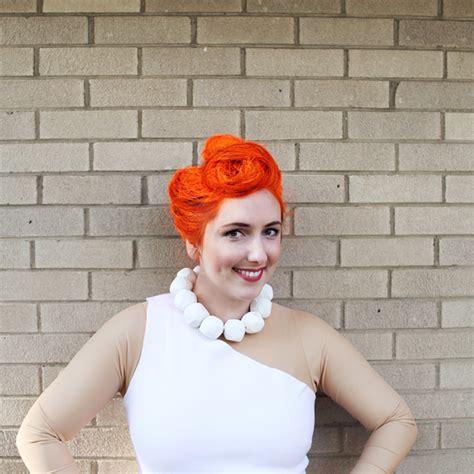 wilma hairstyle wilma flintstone hair tutorial making nice in the midwest