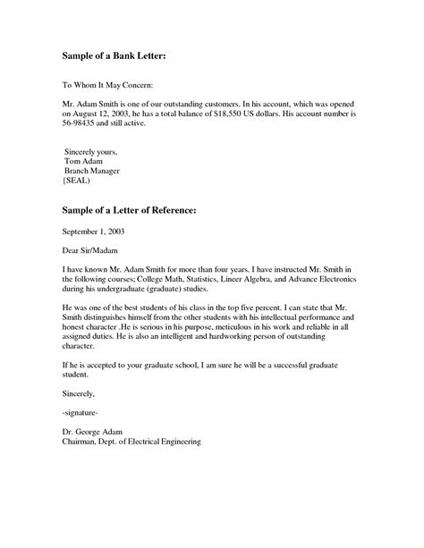 To Whom It May Concern College Letter Of Recommendation To Whom It May Concern Letter Format Best Template Collection