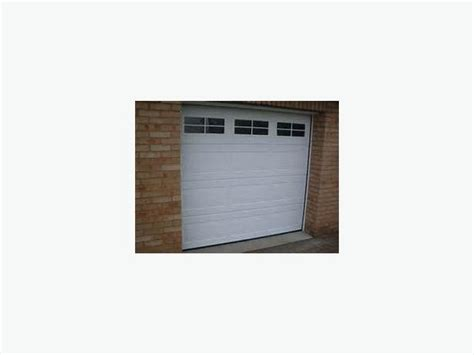 insulated garage doors with windows thermocraft insulated garage door with automatic opener