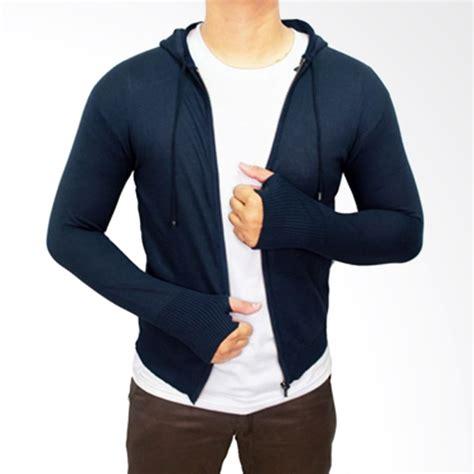 Viko Navy Sweater Rajut Pria jual rajut jaket pria navy harga kualitas terjamin blibli