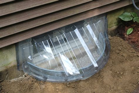 terrific installing basement window well drainage