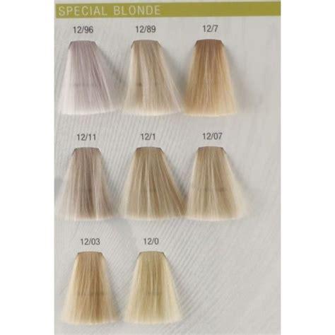 perfect 10 hair color chart koleston perfect special blonde wella koleston perfect