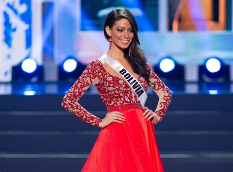 7259 miss bolia black miss universe 2013 evening gown contestants flaunt