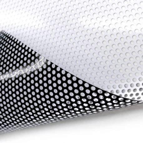 printable vinyl film one way vision printable a self adhesive perforated vinyl
