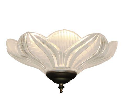lotus flower 170 ceiling fan light the tropical fan company