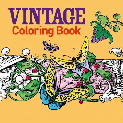 Vintage Coloring Book Arcturus Publishing 9781785990090 Vintage Coloring Books