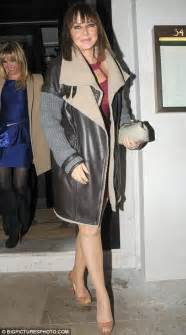 Night vorderman out for a girlie dinner in london earlier this month