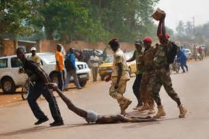Over the past year citizens of the central african republic have