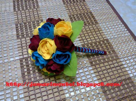 Pi Alvia Warna Maroon Brown bunga tangan cekmin nimsay koleksi bunga