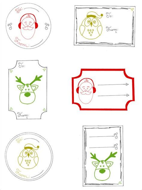 printable gift tags on pinterest printable christmas gift tags pinned by www myowlbarn com