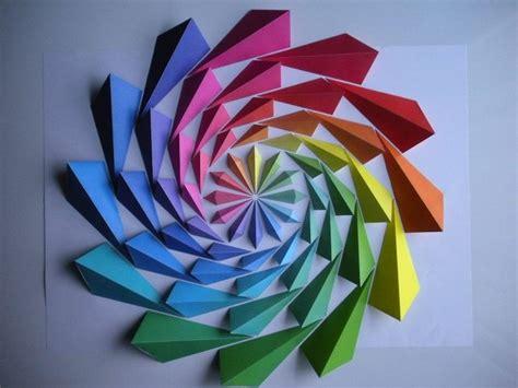 Japanese Flower Origami - kota hiratsuka makes impressive origami mosaics